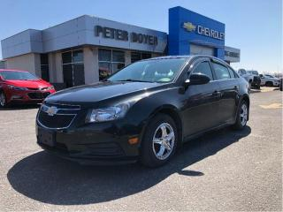 Used 2014 Chevrolet Cruze LT for sale in Napanee, ON