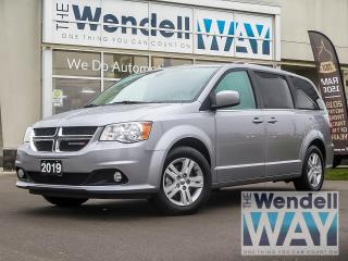 Used 2019 Dodge Grand Caravan Crew Plus |Heated Leather Seats |Nav | DVD for sale in Kitchener, ON