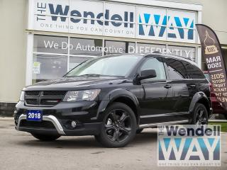 Used 2018 Dodge Journey Crossroad V6 | 7 Pass | Nav | PRICED TO MOVE for sale in Kitchener, ON