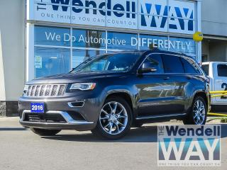 Used 2016 Jeep Grand Cherokee Summit Premium Appearance Group for sale in Kitchener, ON