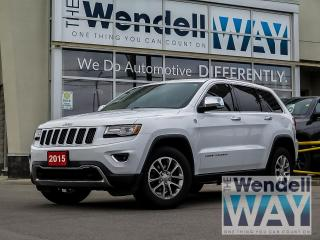 Used 2015 Jeep Grand Cherokee Luxury NAV Dual Roof for sale in Kitchener, ON
