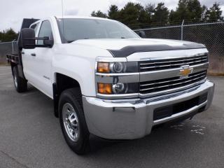 Used 2015 Chevrolet Silverado 3500HD Flat Deck 8.6 foot Crew Cab 4WD for sale in Burnaby, BC