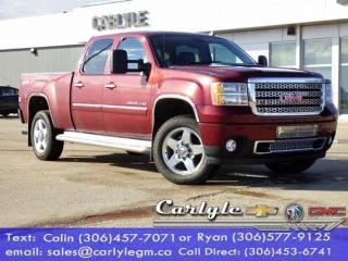 Used 2013 GMC Sierra 2500 HD Denali for sale in Carlyle, SK