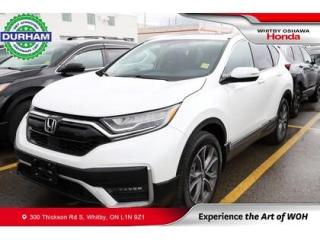 Used 2020 Honda CR-V Touring | Heads Up Display, Power Moonroof for sale in Whitby, ON