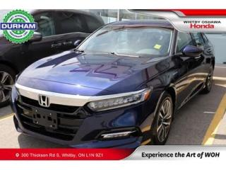 Used 2019 Honda Accord Hybrid Touring CVT for sale in Whitby, ON