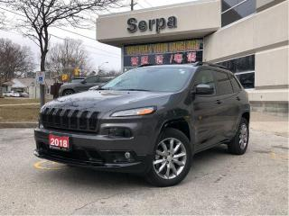 Used 2018 Jeep Cherokee North |4X4|NAV|PGATE|HSEAT|TWOTONE|RSTART| for sale in Toronto, ON