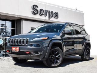 Used 2017 Jeep Cherokee Trailhawk |NAV|REARCAM|HSEAT|RSTART|4X4| for sale in Toronto, ON