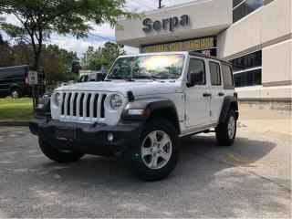 Used 2018 Jeep Wrangler Unlimited Sport |HSEAT|RSTART|HARDTOP|REARCAM| for sale in Toronto, ON