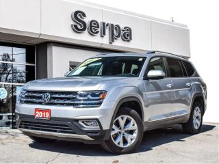 Used 2019 Volkswagen Atlas 3.6 FSI Highline |NAV|PANOROOF|REARCAM|HITCH|LOWK| for sale in Toronto, ON