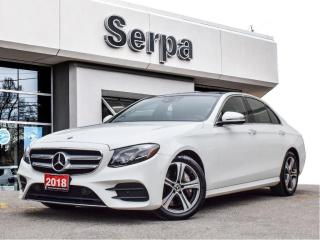 Used 2018 Mercedes-Benz E-Class |NAV|ROOF|12.3SCREEN|WOOD|329HP|TRADE-IN| for sale in Toronto, ON