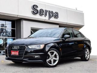 Used 2015 Audi A3 2.0T Komfort |ROOF|LEATHER|KOMFORT|TRADE-IN| for sale in Toronto, ON