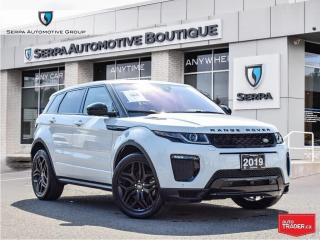 Used 2019 Land Rover Evoque HSE DYNAMIC COVID-19 INSTANT CREDIT, SEE DEALER FOR DETAILS   NO PAYMENTS FOR 90 DAYS OAC for sale in Aurora, ON