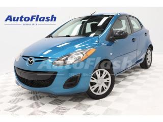 Used 2012 Mazda MAZDA2 1.6L *A/C *Gr.Electric *Clean! for sale in St-Hubert, QC