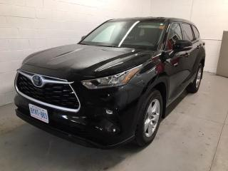 New 2020 Toyota Highlander HYBRID LE EMPLOYEE DEMO+PRICE REDUCED! for sale in Cobourg, ON