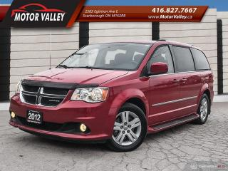 Used 2012 Dodge Grand Caravan CREW PLUS NAVIGATION - CAMERA ONLY 090,152KM for sale in Scarborough, ON