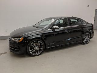 Used 2016 Audi S3 S3 TECHNIK/BANG&OULFSEN/BLIND SPOT ASSIST/LOADED! for sale in Toronto, ON