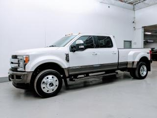 Used 2019 Ford F-450 Super Duty DRW KING RANCH/MASSAGE SEATS/PANO/VENTILATED SEATS! for sale in Toronto, ON