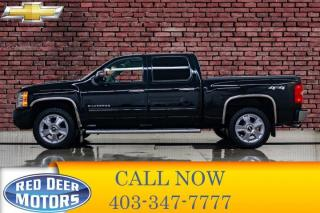 Used 2013 Chevrolet Silverado 1500 4x4 Crew Cab LTZ Leather Roof Nav for sale in Red Deer, AB
