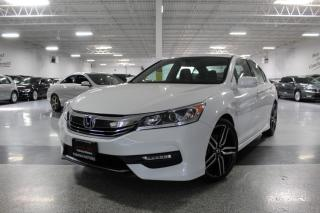 Used 2017 Honda Accord SPORT I LEATHER I REAR CAM I SUNROOF I BLIND SPOT I H.SEATS for sale in Mississauga, ON