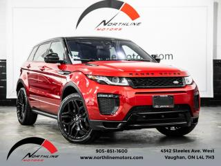 Used 2016 Land Rover Evoque HSE Dynamic|Navigation|Heads Up Disp|Pano Roof|Blindspot|LKA for sale in Vaughan, ON