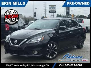 Used 2017 Nissan Sentra 1.6 SR Turbo  NAVI|SUNROOF|HEATED LEATHER| for sale in Mississauga, ON