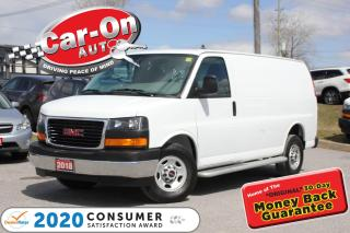 Used 2018 GMC Savana 2500 Work Van ONLY 18,000 KM REAR CAM CRUISE A/C PWR GR for sale in Ottawa, ON