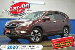 Used 2015 Honda CR-V Touring AWD LEATHER NAV SUNROOF REAR CAM LOADED for sale in Ottawa, ON