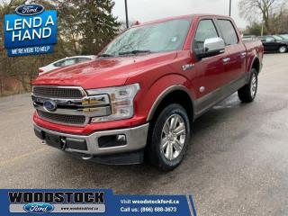 New 2020 Ford F-150 King Ranch for sale in Woodstock, ON