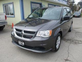 Used 2018 Dodge Grand Caravan FAMILY MOVING SE EDITION 7 PASSENGER 3.6L - V6.. MIDDLE BENCH.. ECON-BOOST PACKAGE.. CD/AUX INPUT.. REAR STOW-N-GO SEATING.. KEYLESS ENTRY.. for sale in Bradford, ON