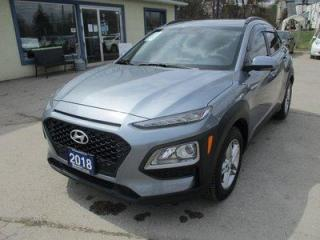 Used 2018 Hyundai KONA LIKE NEW SE MODEL 5 PASSENGER 2.0L - DOHC.. DRIVE-MODE-SELECT.. BACK-UP CAMERA.. BLUETOOTH SYSTEM.. TOUCH SCREEN DISPLAY.. for sale in Bradford, ON