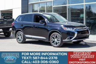 Used 2018 Mitsubishi Outlander GT 4WD, 3.0l V6 Engine, Leather, Heated Steering Wheel for sale in Okotoks, AB