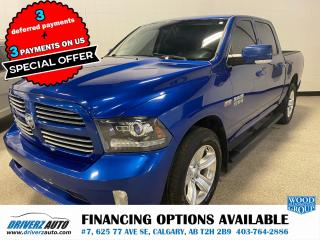 Used 2015 RAM 1500 SPORT for sale in Calgary, AB