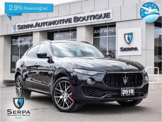 Used 2018 Maserati Levante S GranSport THE SERPA FINANCING ASSISTANCE PROGRAM, SEE DEALER FOR DETAILS | NO PAYMENTS FOR 120 DAYS OAC for sale in Aurora, ON