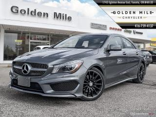 Used 2016 Mercedes-Benz CLA-Class CLA 250 Leather Pano Roof Back Up Cam Clean Carfax for sale in North York, ON