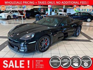 Used 2009 Chevrolet Corvette Z06 for sale in Richmond, BC