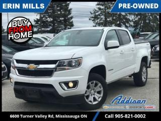 Used 2017 Chevrolet Colorado LT  BLUETOOTH|REAR CAM|TONNEAU|SLIDING WINDOW| for sale in Mississauga, ON