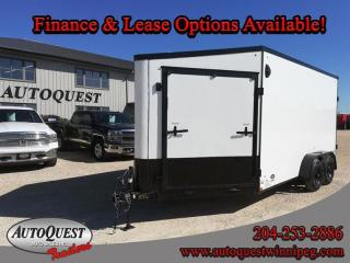 Used 2021 Stealth TRAILER 7' x 19' V-Nose Enclosed Combo for sale in Winnipeg, MB