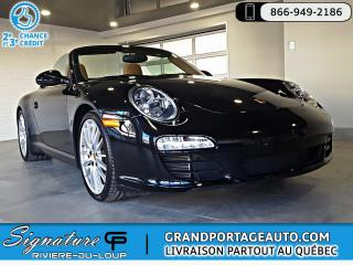 Used 2009 Porsche 911 Carrera S Cabriolet PDK Chrono *Low Km* for sale in Rivière-Du-Loup, QC