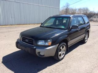 Used 2004 Subaru Forester 5dr Wgn XS Manual for sale in Quebec, QC