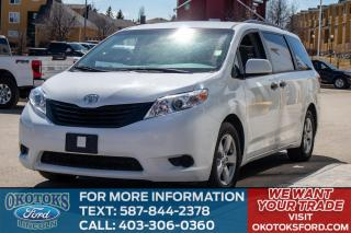 Used 2017 Toyota Sienna TOUCH SCREEN/UDAL CLIMATE/MIDDLE BUCKETS for sale in Okotoks, AB