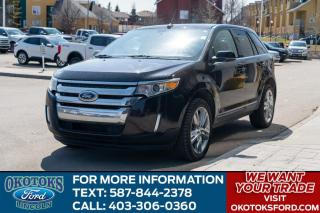 Used 2013 Ford Edge Limited AWD, 3.5L V6 Engine, Leather, Canadian Touring Package, Panoramic Roof, Voice Activated Navigation for sale in Okotoks, AB