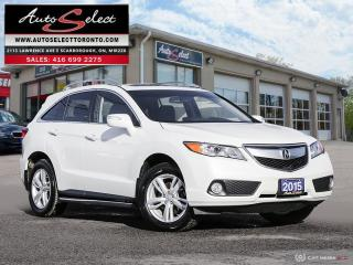 Used 2015 Acura RDX Technology Package AWD ONLY 92K! **PREMIUM PKG** ELS SURROUND SOUND for sale in Scarborough, ON