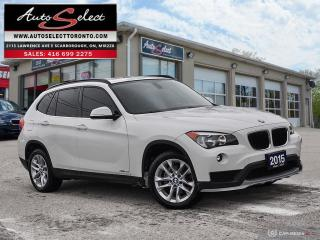 Used 2015 BMW X1 xDrive28i AWD ONLY 136K! **PANORAMIC SUNROOF** PREMIUM PKG for sale in Scarborough, ON