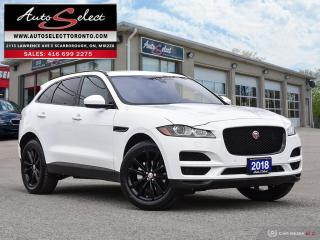 Used 2018 Jaguar F-PACE 25t Prestige AWD ONLY 67K! **TECHNOLOGY PKG** CLEAN CARPROOF for sale in Scarborough, ON