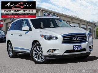 Used 2015 Infiniti QX60 7 Passenger AWD ONLY 66K! **TECHNOLOGY PKG** CLEAN CARPROOF for sale in Scarborough, ON