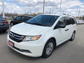 Used 2015 Honda Odyssey LX BLUETOOTH | REARVIEW CAMERA WITH GUIDELINES | HEATED SEATS for sale in Cambridge, ON