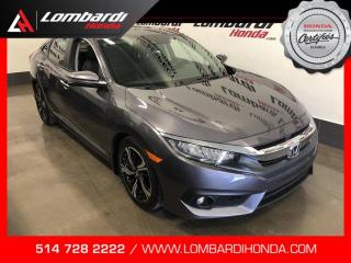 Used 2017 Honda Civic TOURING|CUIR|NAVI|TOIT| for sale in Montréal, QC