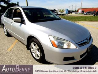 Used 2007 Honda Accord DX-G - 2.4L for sale in Woodbridge, ON