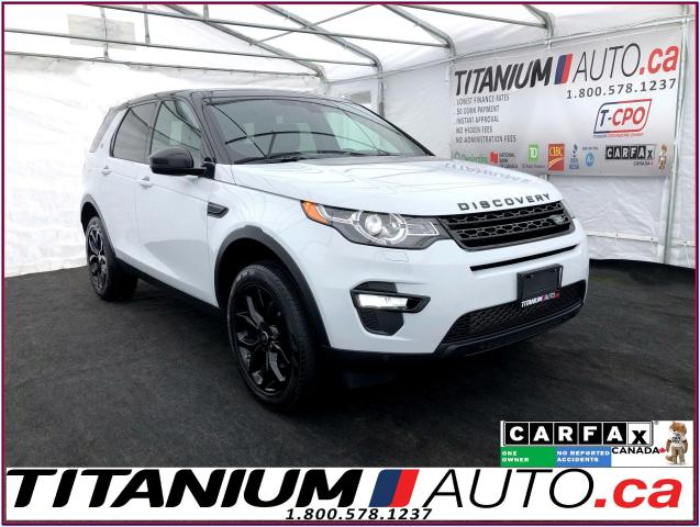 2016 Land Rover Discovery Sport HSE+Pano Roof+Blind Spot+Lane Assist+GPS+Camera+XM
