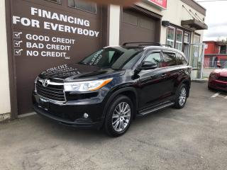 Used 2016 Toyota Highlander XLE for sale in Abbotsford, BC